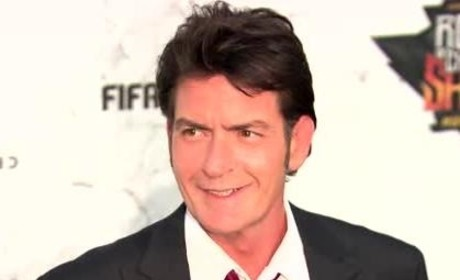 Charlie Sheen Accused of Pulling Knife on Dentist