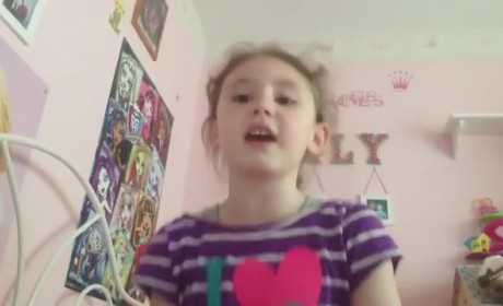 """Young Girl Sings """"Let Me Poop,"""" Hilariously Parodies Frozen"""