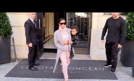 Kim Kardashian: I Didn't Forget North West in a Hotel!