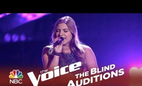 Fernanda Bosch - I Try (The Voice Audition)