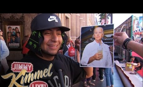 Jimmy Kimmel Asks Pedestrians: Who is Joe Biden?
