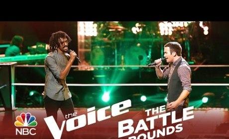 Menlik Zergabachew vs. Troy Ritchie (The Voice Battle Round)