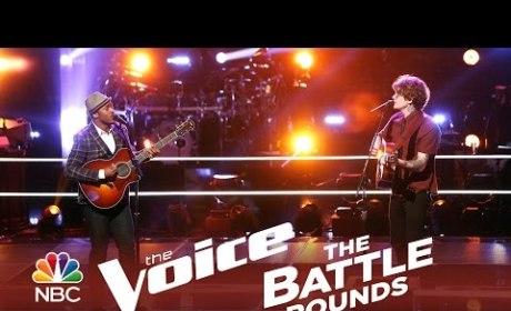 Ethan Butler vs. Matt McAndrew (The Voice Battle Round)