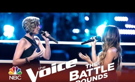 Beth Spangler vs. Mia Pfirrman (The Voice Battle Round)