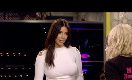 Kim Kardashian Guest Stars in Least Funny Sitcom Scene of All-Time