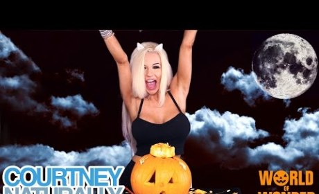 Courtney Stodden Halloween Video: Seriously Sexy Slash Spooky