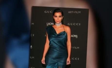 Kim Kardashian Baby Bump Revealed?