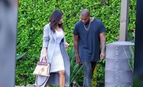 Kim Kardashian Carries Special Handbag
