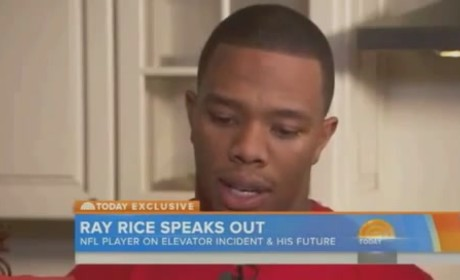 "Ray Rice Speaks on Janay Rice Assault, Admits ""Horrendous Mistake"" to Matt Lauer"