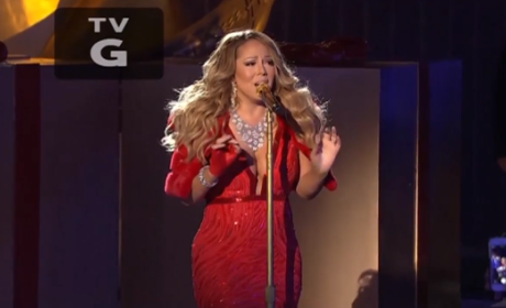 Mariah Carey Isolated Vocals: Released! Kind of Rough in Live NBC Performance!
