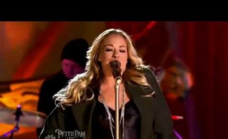 LeAnn Rimes: Baby Bump Visible During NBC Performance?!