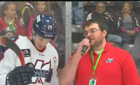"Hockey Player Says ""Meow"" 7 Times in Single Interview, Is Our New Hero"