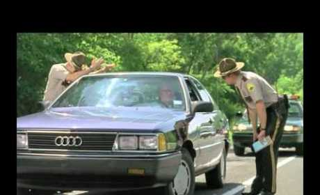 Super Troopers Play the Meow Game
