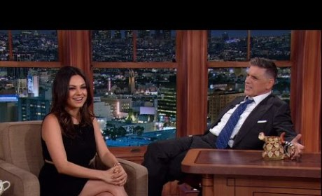 Mila Kunis on The Late Late Show