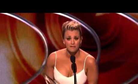 Kaley Cuoco: People's Choice Awards Acceptance Speech