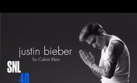 SNL Mocks Justin Bieber Calvin Klein Ads: Watch Now!