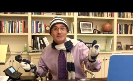"Principal Parodies ""Let It Go"" to Announce Snow Day"