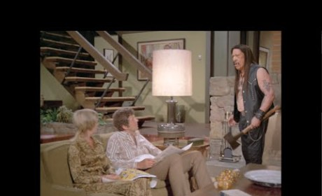 Snickers Super Bowl Commercial: Danny Trejo Meets The Brady Bunch!