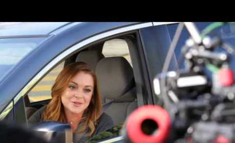 Lindsay Lohan Super Bowl Commercial Mocks Terrible Driving History