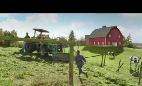 Doritos Super Bowl Commercial: When Pigs Fly