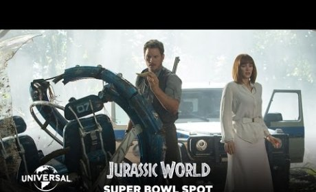 Jurassic World Super Bowl Trailer