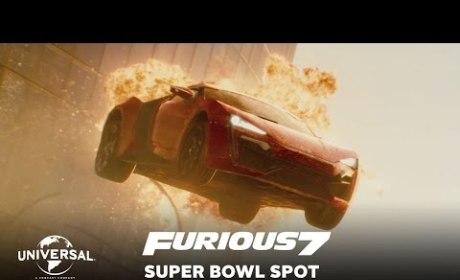 Furious 7 Super Bowl Trailer