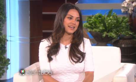Ellen DeGeneres to Mila Kunis: Are You Married or Not?!?