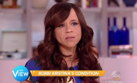 Rosie Perez Speaks on Bobbi Kristina