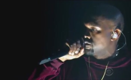 "Kanye West Performs ""Only One"" at Grammy Awards, Pours Heart Out in Velour Sweatsuit"