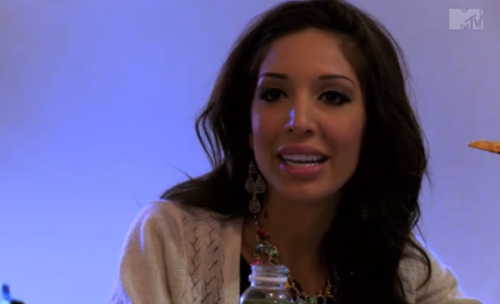Farrah Abraham Returns to Teen Mom, Melts Down in Front of Daughter: First Look!