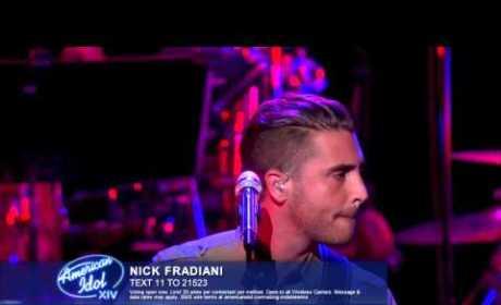 American Idol Top 12 Men Perform