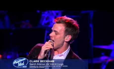 "Clark Beckham – ""When a Man Loves a Woman"""