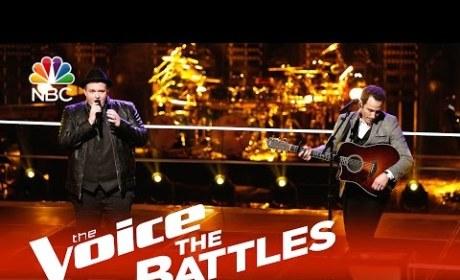 Brian Johnson vs. Joshua Davis: The Voice Battle Round