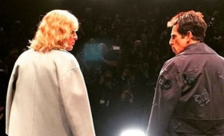 Ben Stiller, Owen Wilson Zoolander Walk-Off