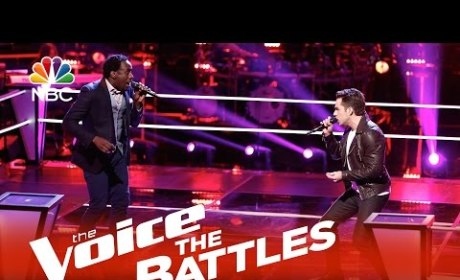 Travis Ewing vs. Anthony Riley (The Voice Battle Round)