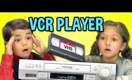 Kids React to VCR with Confusion, Irritation: This is Hard Work!