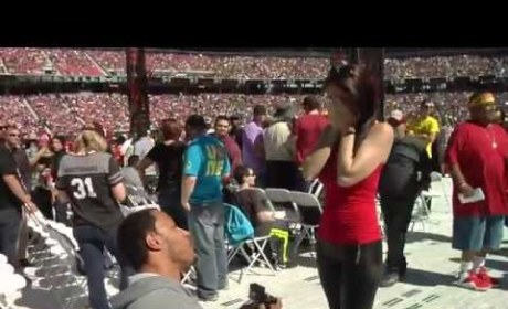 Wrestlemania 31 Proposal: Did She Say Yes, Yes, Yes?