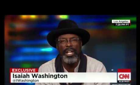 "Isaiah Washington to Chris Rock: #Adapt to Racial Profiling, ""War"" with Police!"