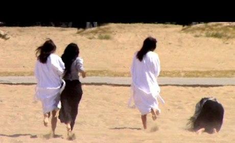 Kylie Jenner Balls, Falls So Hard: See Her Epic Beach Fail
