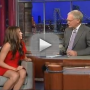 Nikki Reed Talks Breaking Dawn and Russian Tattoos on The Late Show