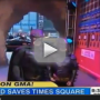 Batkid Appears on Good Morning America, Saves Pitbull