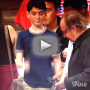 Jack Nicholson Totally Snubs Young Basketball Fan