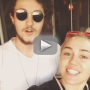 Miley Cyrus Accepts RICE Bucket Challenge, Posts Grainy Footage