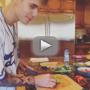 Justin Bieber Prepares Organic Chicken, Makes Like Food Network Star