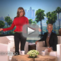 Jennifer Aniston Appears on Ellen, Trolls Kim Kardashian with Randomly Inflated Breasts