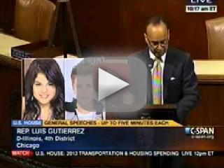 Luis V. Gutierrez Speech: Pick the Immigrant!