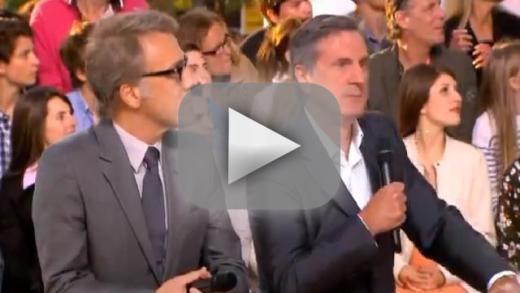 Christoph Waltz Interview Interrupted by Gunfire