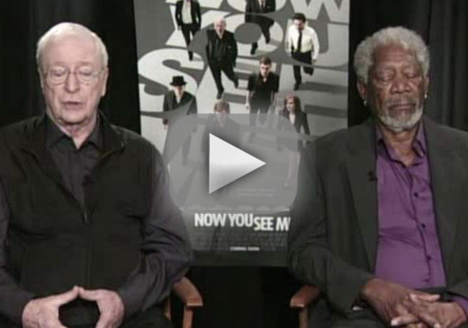 Morgan Freeman on Falling Asleep in Mid-Interview: Just Beta Testing Google Eyelids!