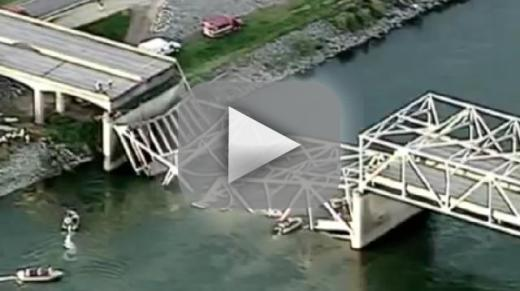 bridge collapse washington state river The washington bridge that collapsed and sent two cars into the river may have been too small for today's traffic, but experts say it.
