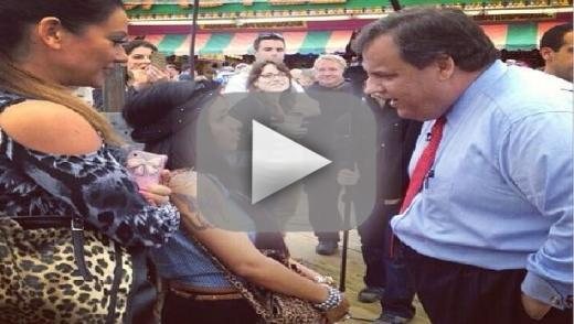 Snooki Meets Chris Christie